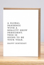 Huckleberry Pandemic Cards by Huckleberry Letterpress