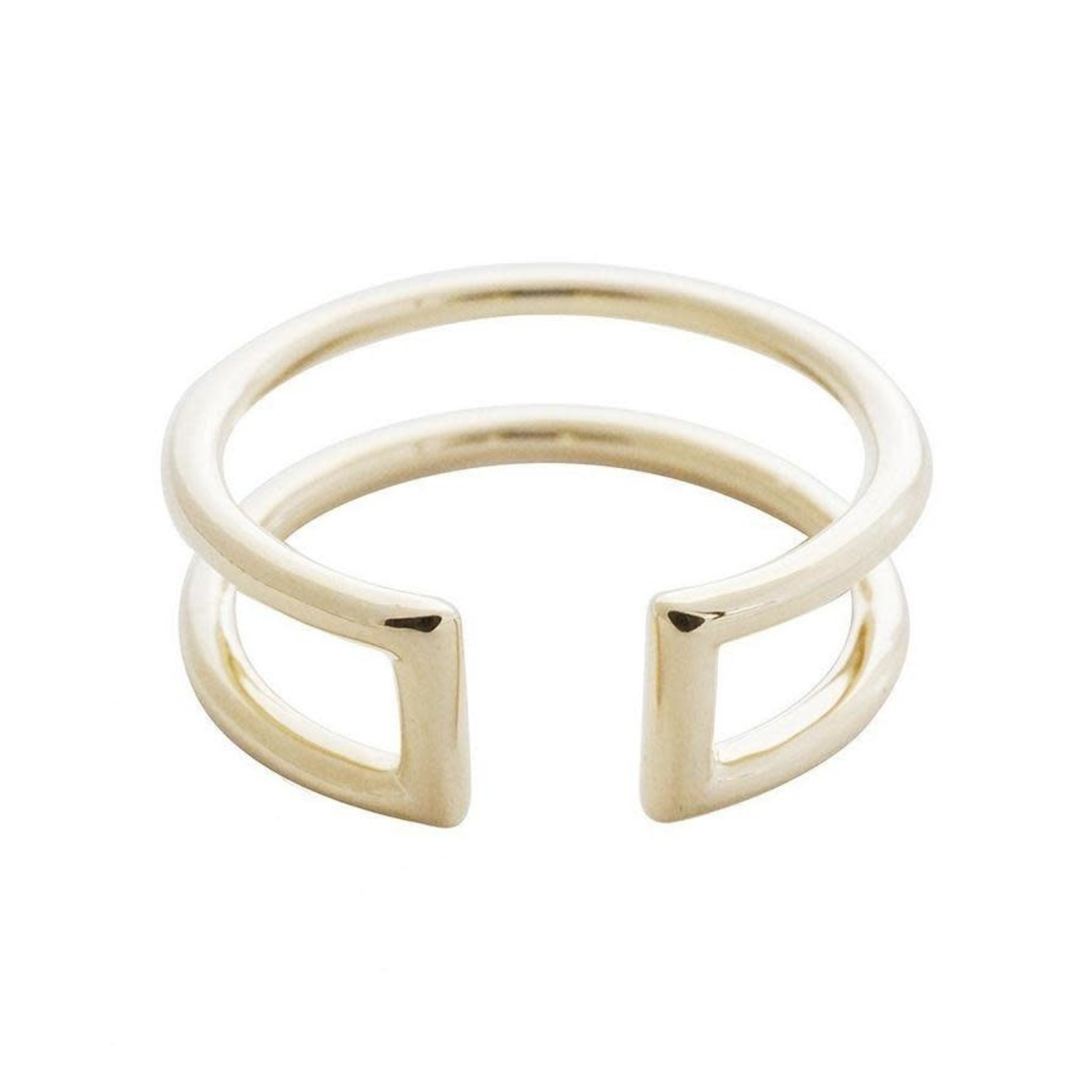 Honeycat Jewelry Honeycat Double Stack Ring
