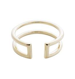 Honeycat Honeycat Double Stack Ring