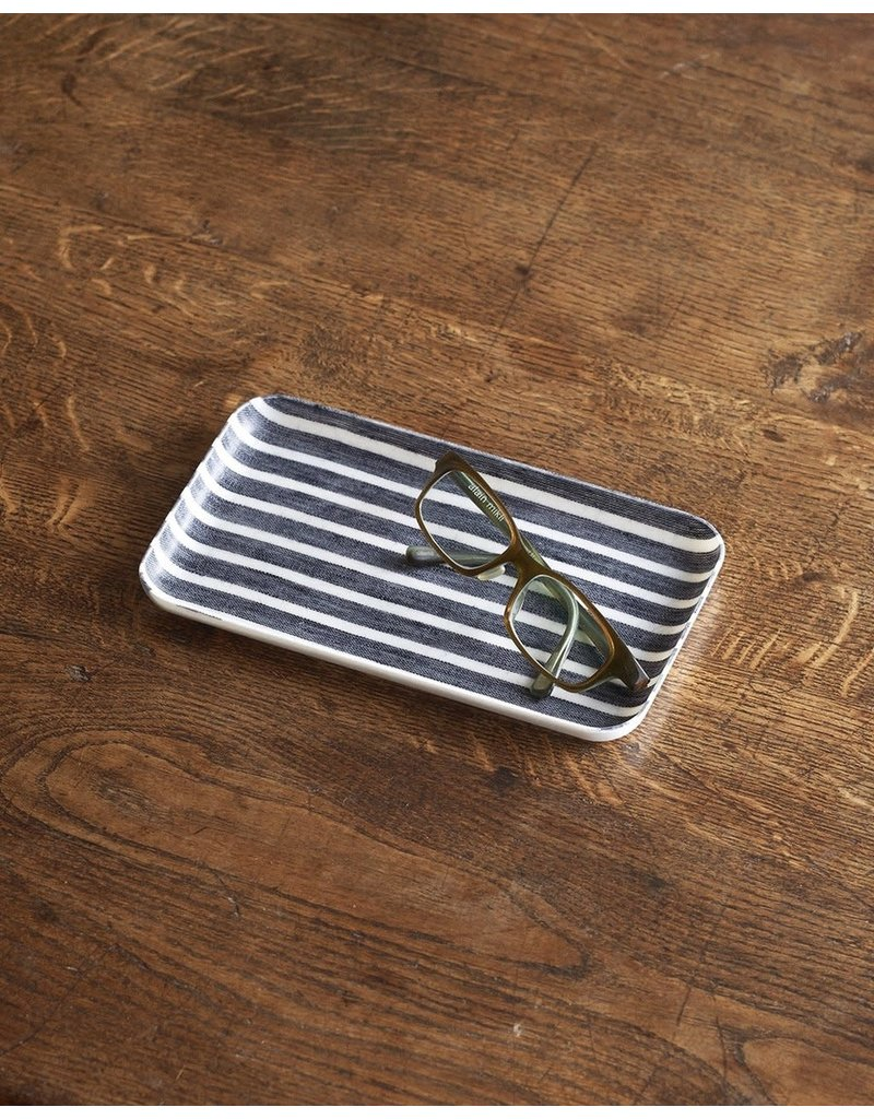 Fog Linen Fog Linen Linen Coated Tray Small - More Options Available