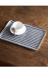 Fog Linen Linen Coated Tray Medium