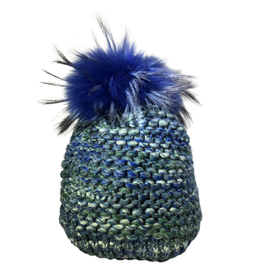 Jijou Fur Pom Pom Capri Hat JJ86 - More Options Available