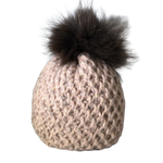 Jijou Fur Pom Pom Hat JJ90 - More Options Available