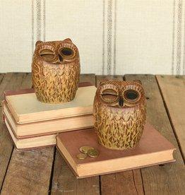 HomArt HomArt Ceramic Owl Bank Brown
