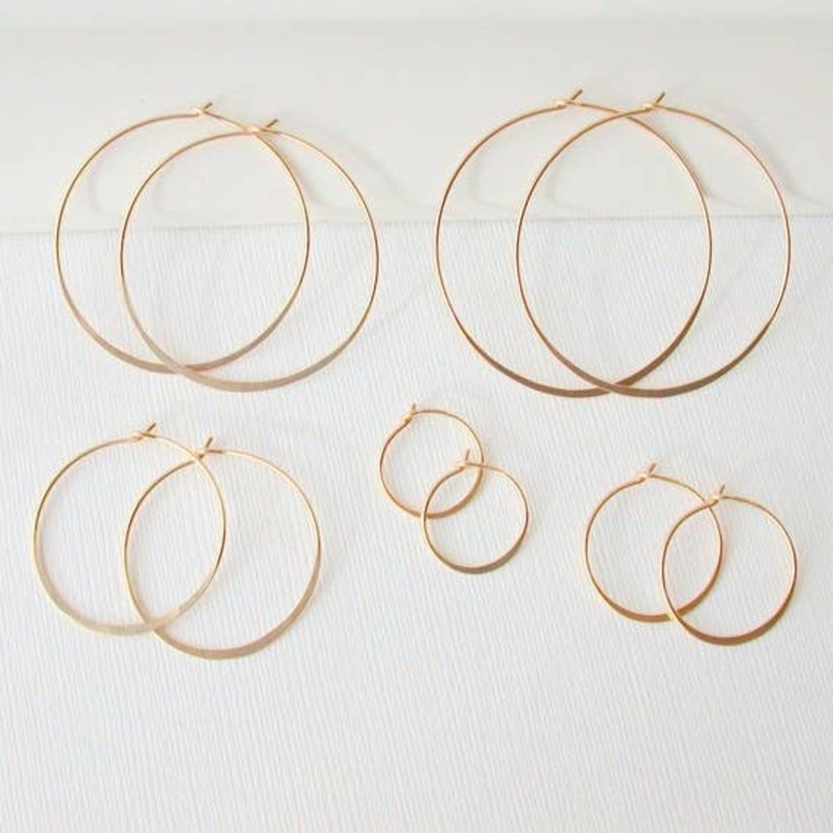 Linda Trent Jewelry Linda Trent 14K GOLD Fill Hoop Earring