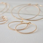 Linda Trent Jewelry Linda Trent ROSE GOLD Fill Hoop Earring