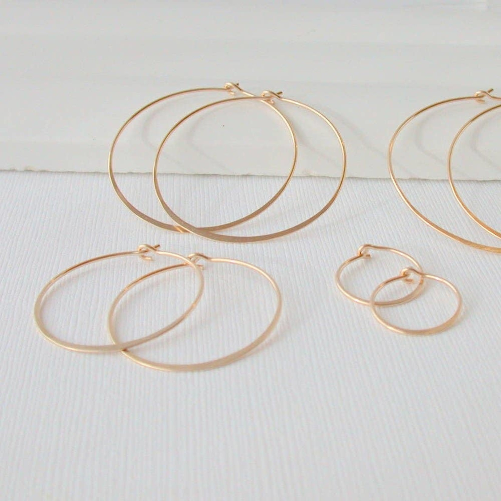 Linda Trent Jewelry Linda Trent ROSE GOLD Fill Hoop Earring