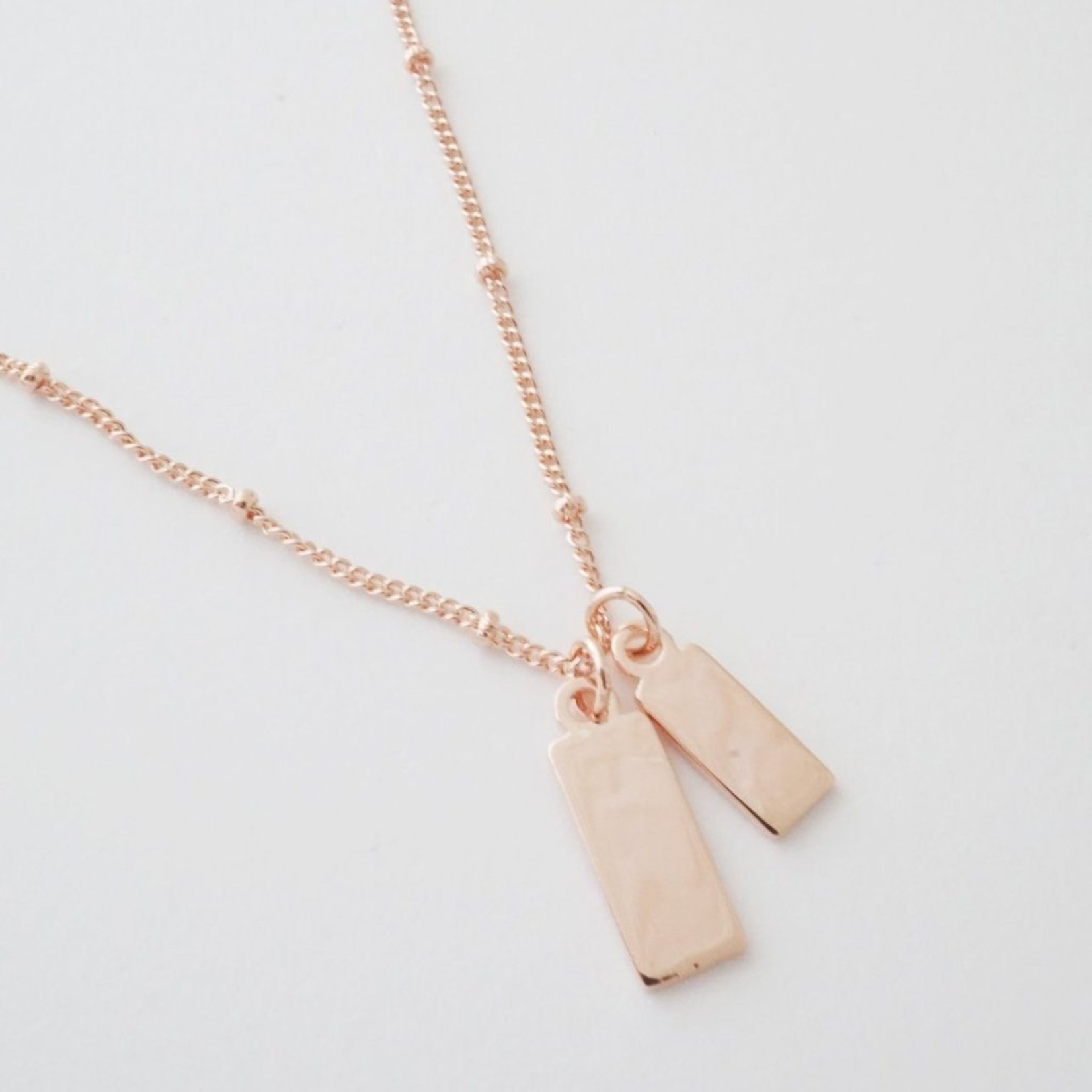 Honeycat Jewelry Tag Together Necklace by Honeycat Jewelry