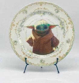 Camp Camp Vintage Plate Star Wars
