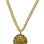 Mana Made Jewelry Mana Made 14K Gold Plated Zodiac Necklace