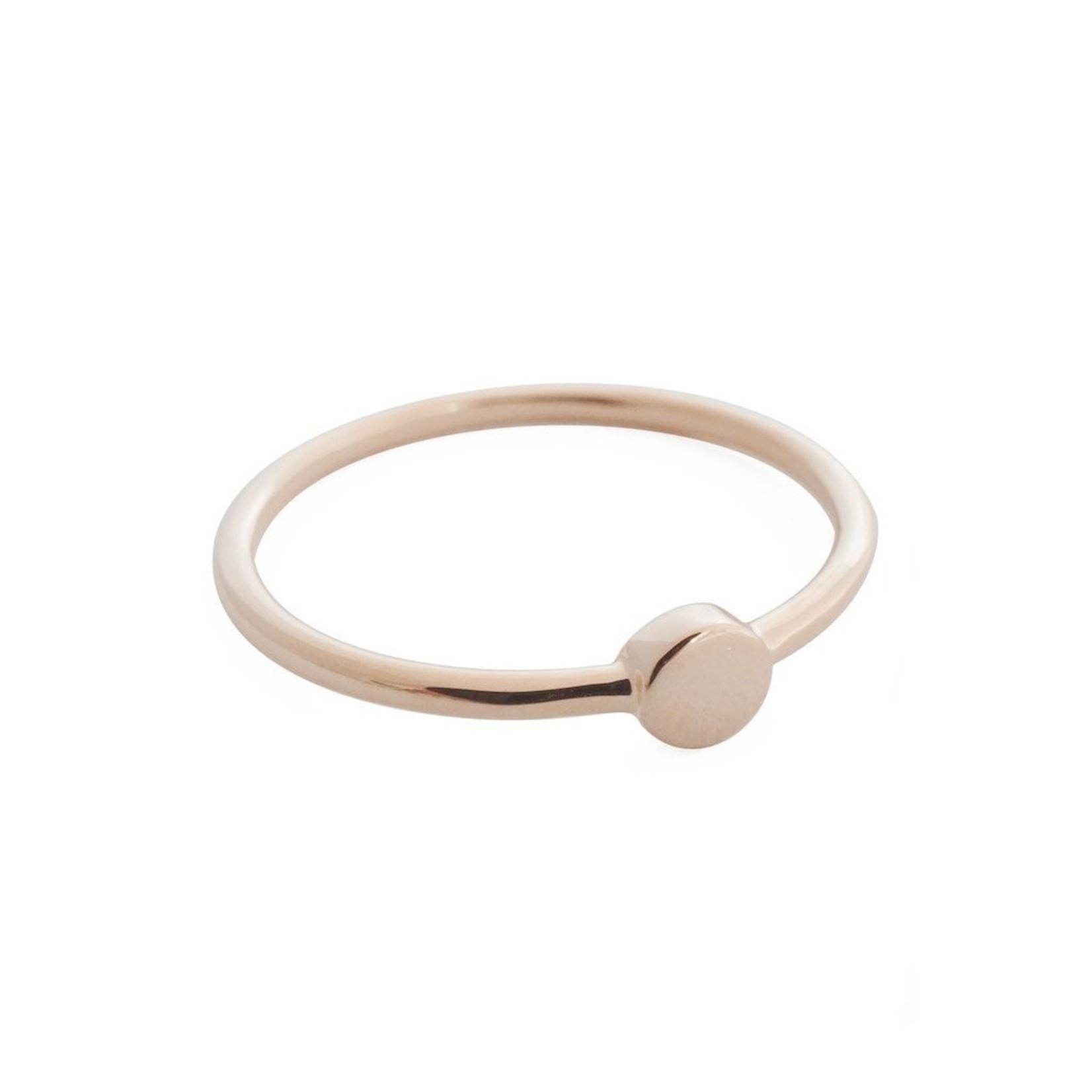 Honeycat Jewelry Tiny Circle Ring  by Honeycat Jewelry