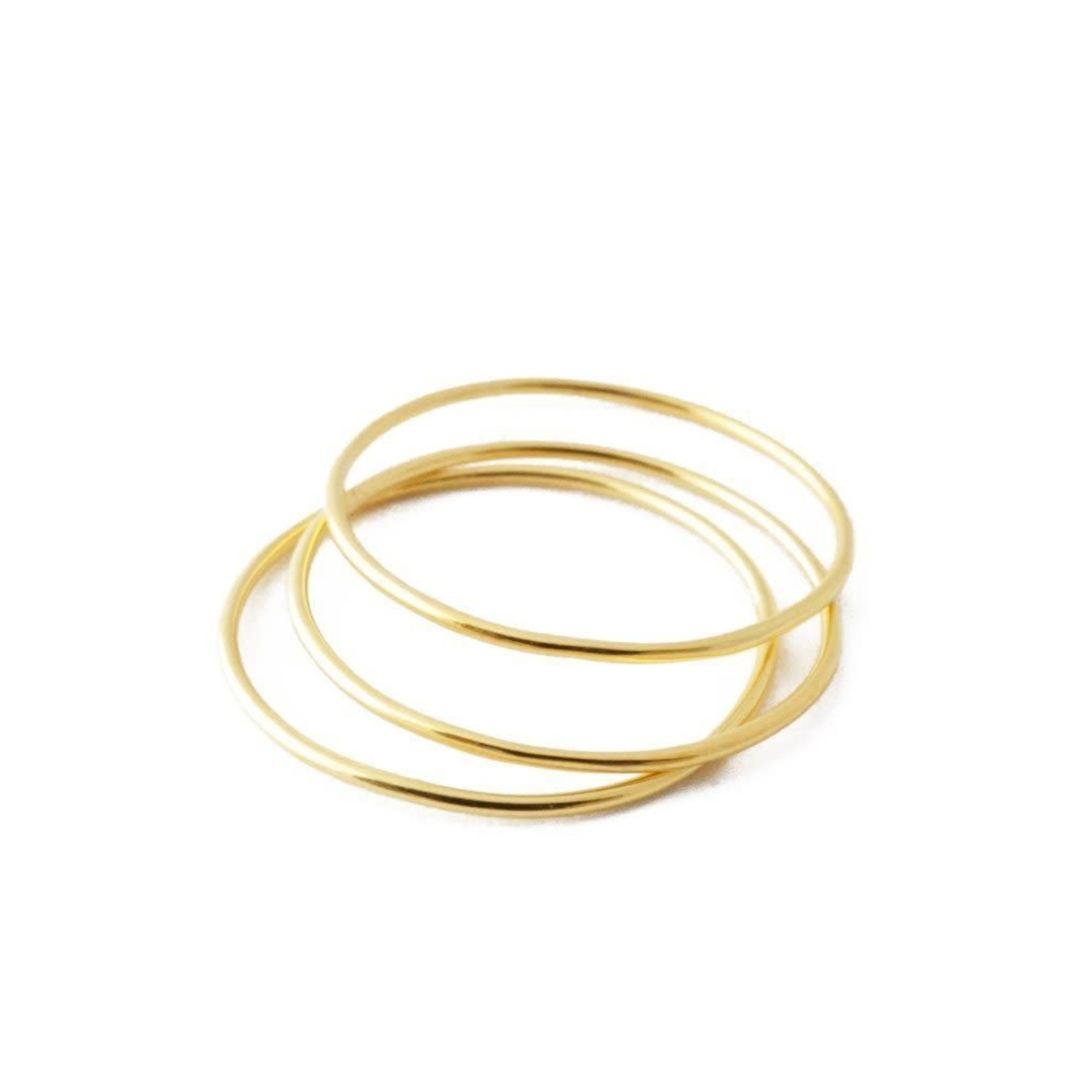 Honeycat Jewelry Super Skinny Stacking Rings by Honeycat Jewelry