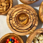 Natural OliveWood Natural OliveWood Nesting Bowls