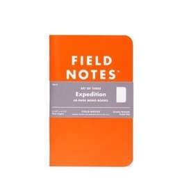 Field Notes Field Notes Expedition 3-packs Dot-Graph