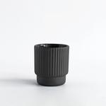 Archive Studio Archive Studio Handmade Ribbed Espresso Cup