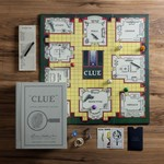 WS Game Company WS Clue Vintage Bookshelf Games