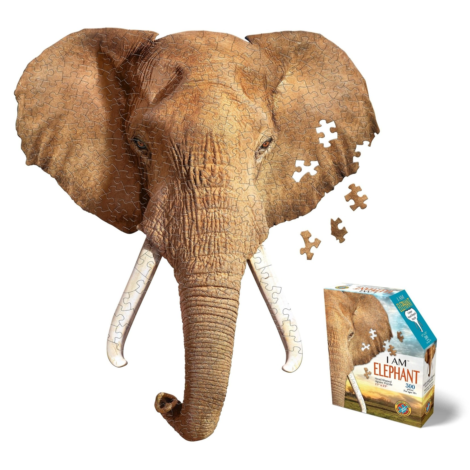 Madd Capp Games & Puzzles Madd Capp Puzzle 300pc I AM Elephant