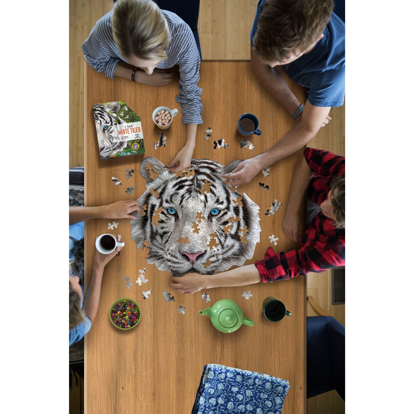 Madd Capp Games & Puzzles Madd Capp Puzzle 300pc I AM White Tiger