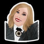 Tay Ham Tay Ham Sticker - SCHITT'S CREEK Moira