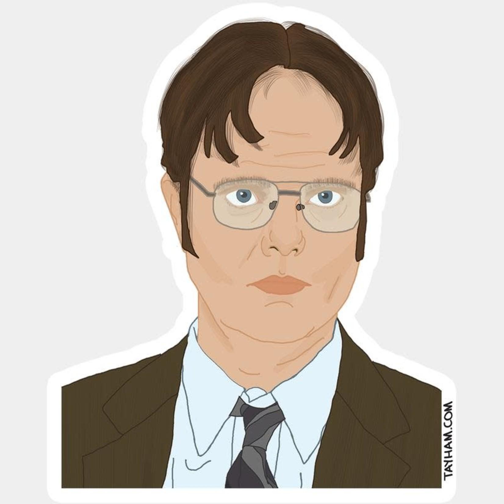 Tay Ham Tay Ham Sticker - THE OFFICE Dwight