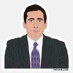 Tay Ham Tay Ham Sticker - THE OFFICE Michael Scott