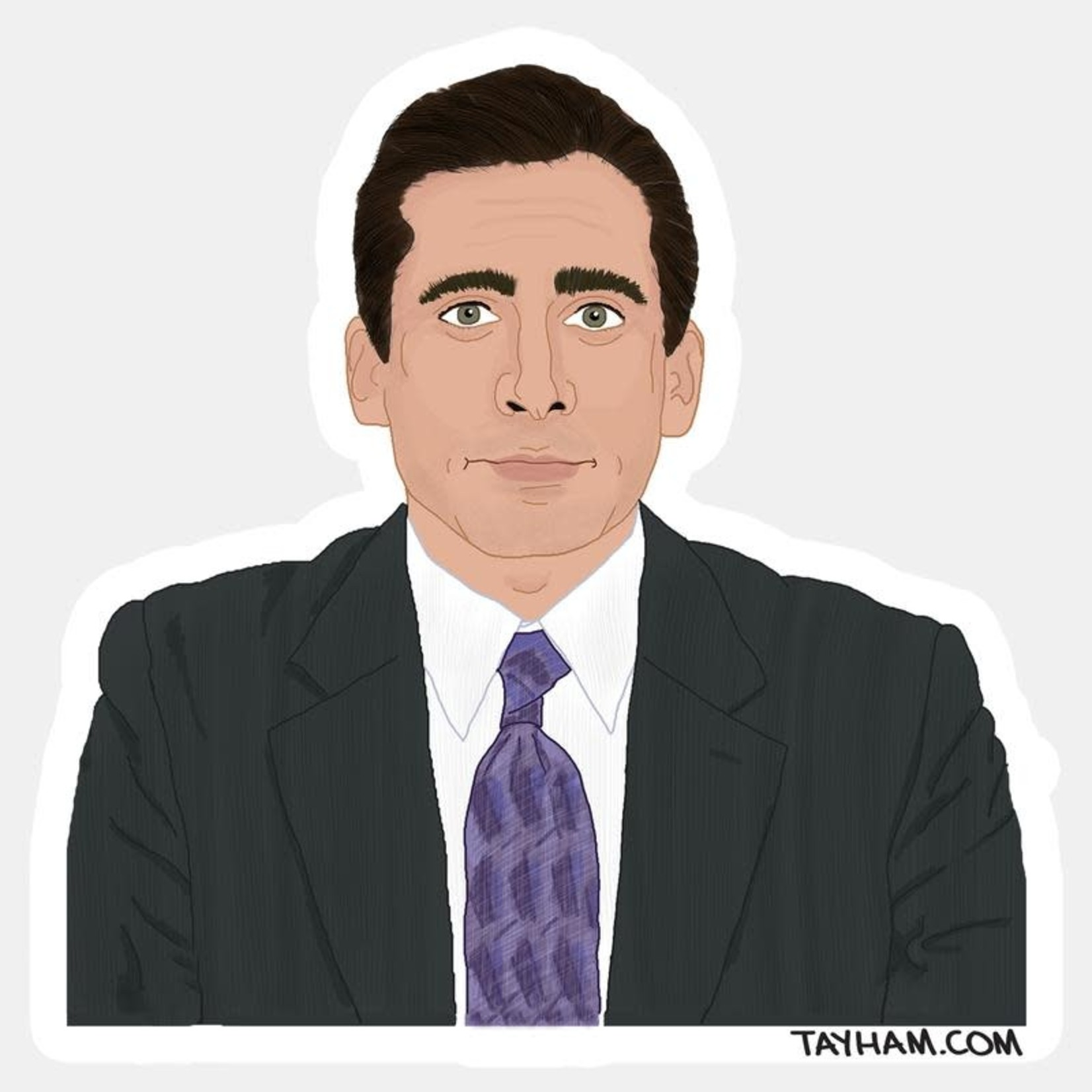 Tay Ham Tay Ham Sticker - THE OFFICE Michael Scott