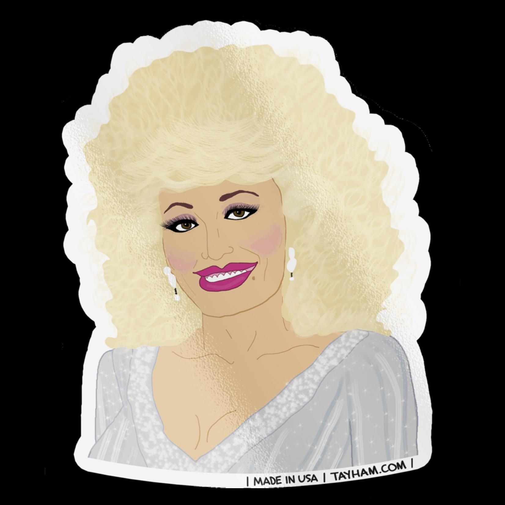 Tay Ham Tay Ham Sticker - MUSIC Nice Dolly