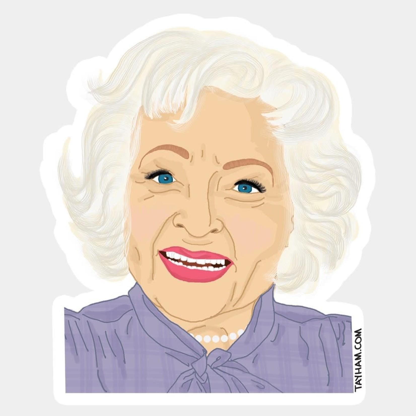 Tay Ham Tay Ham Sticker - GOLDEN GIRLS Betty