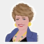 Tay Ham Tay Ham Sticker - GOLDEN GIRLS Blanche