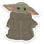 Meg Kelly Meg Kelly Sticker Baby Yoda