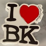 Meg Kelly Meg Kelly Sticker I Love BK