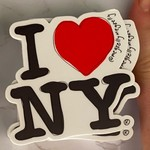 Meg Kelly Meg Kelly Sticker I Love NY