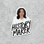 "Citizen Ruth Citizen Ruth Sticker Kamala ""History Maker"""