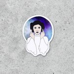 Citizen Ruth Citizen Ruth Sticker Princess Leia Middle Finger