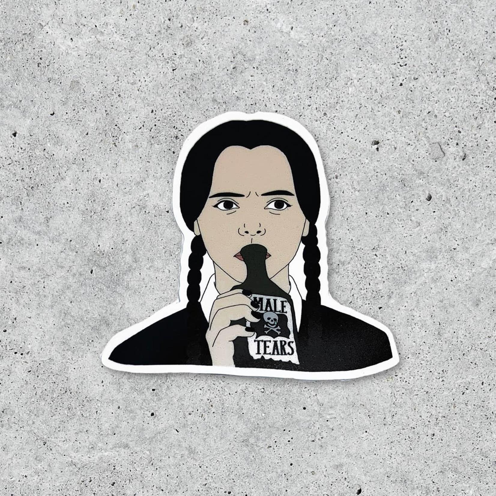 "Citizen Ruth Citizen Ruth Sticker Wednesday ""Male Tears"""