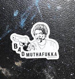 Steel Petal Press Steel Petal Sticker Muthafukka