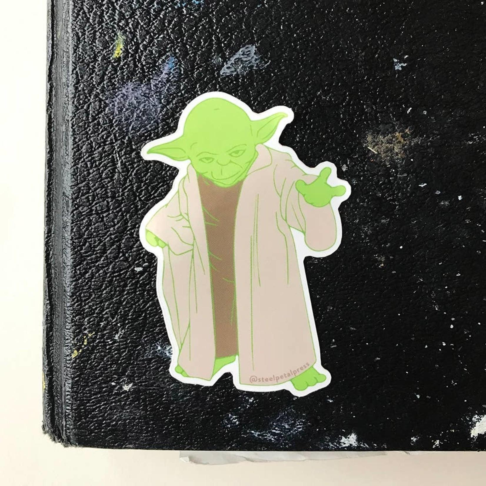 Steel Petal Press Steel Petal Sticker Yoda