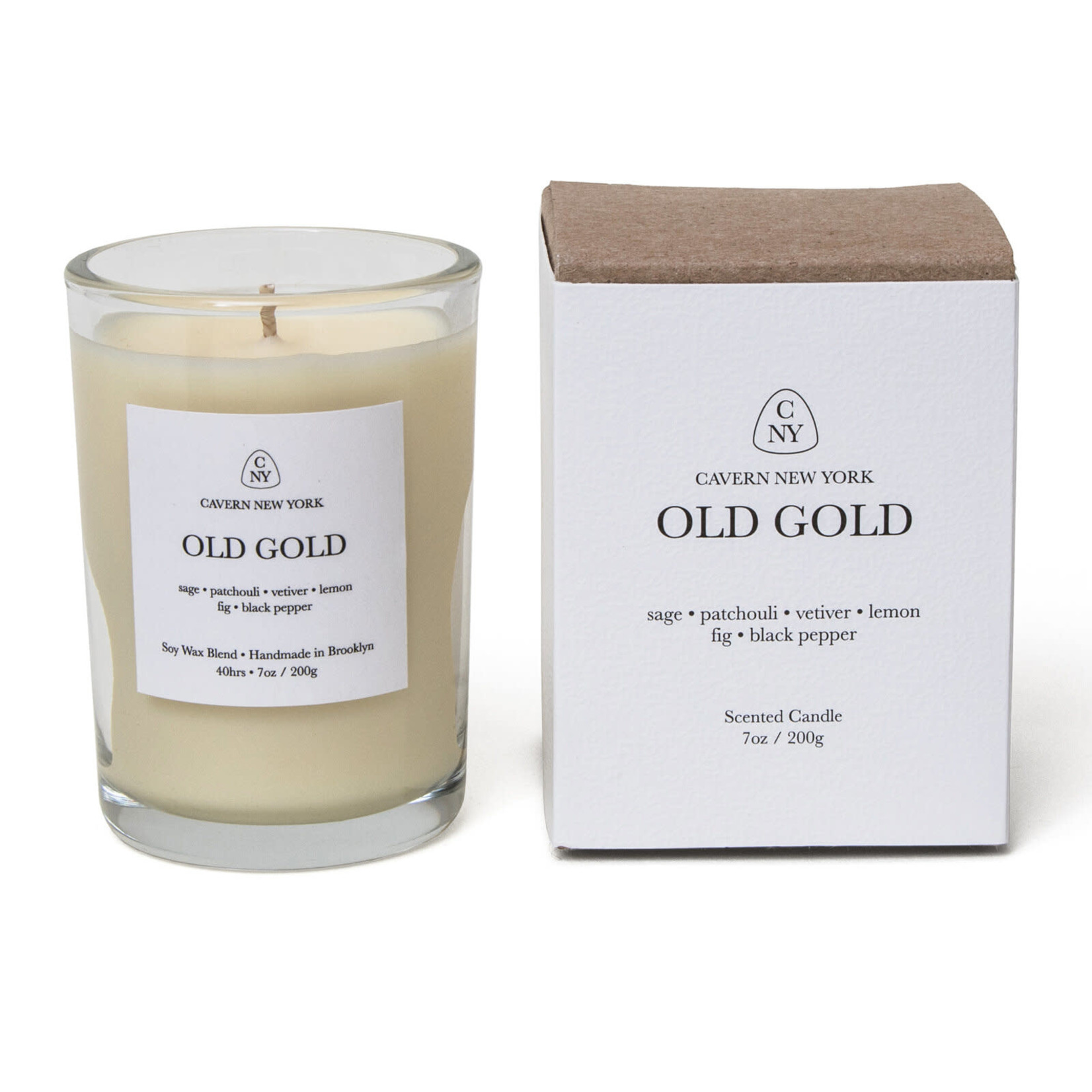 Cavern New York Cavern New York Candle Old Gold