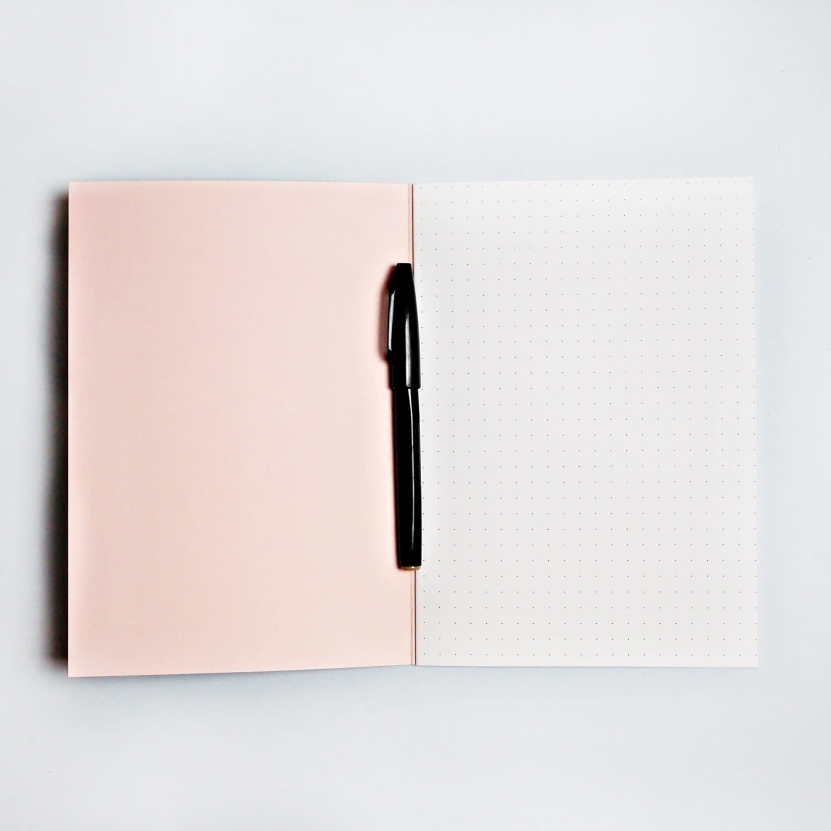 The Completist The Completist Notebook Green Shadow Brush
