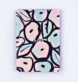 The Completist The Completist Notebook Pastel Inky Flowers
