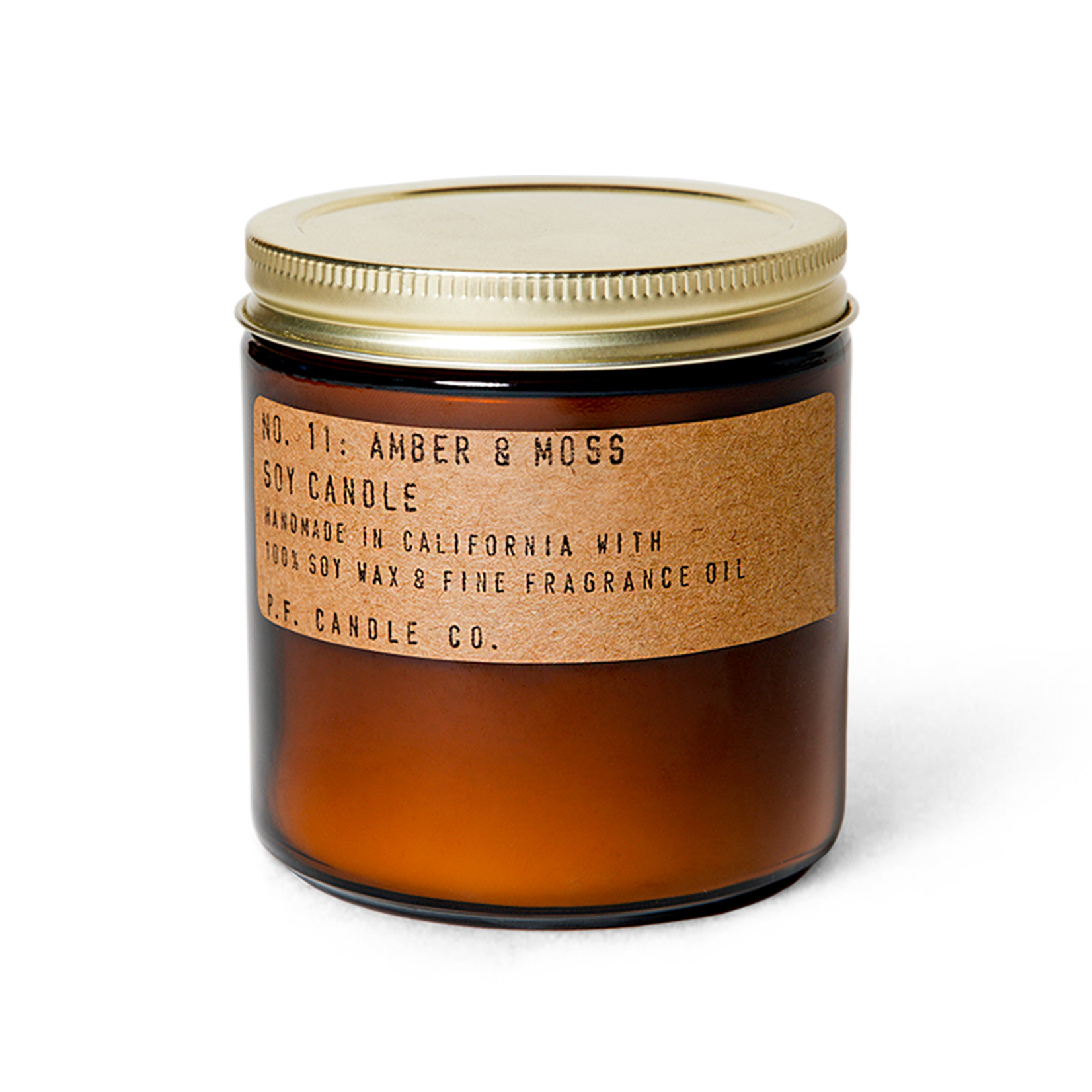 P.F. Candle Co. P.F. Soy Candle 12.5oz Amber & Moss