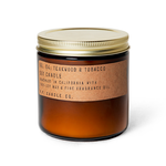 P.F. Candle Co. P.F. Soy Candle 12.5oz Teakwood & Tobacco