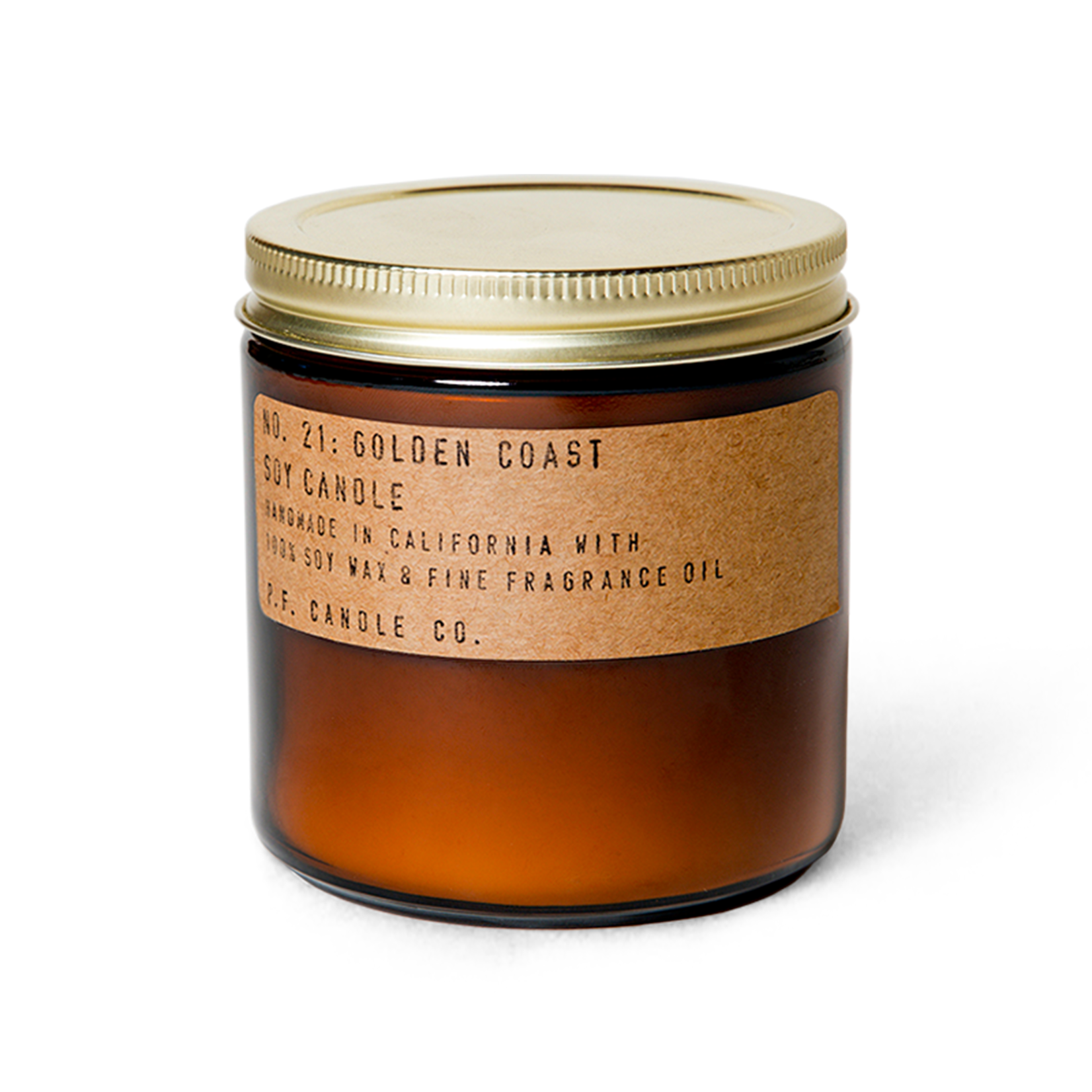 P.F. Candle Co. P.F. Soy Candle 12.5oz GOLDEN COAST