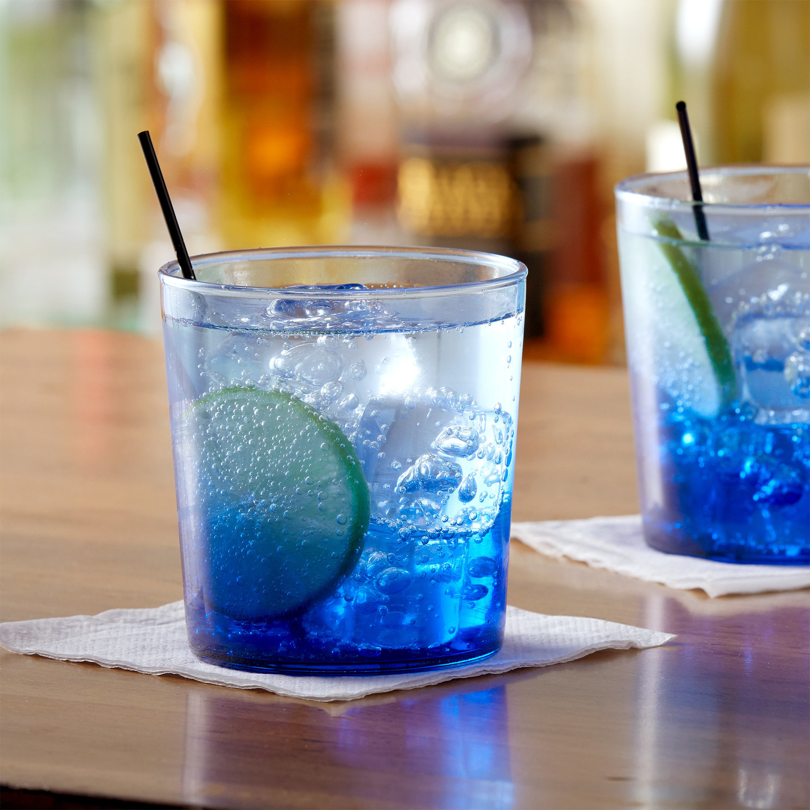 Arc Cardinal Arcoroc 12.5 oz Rocks Glass Blue