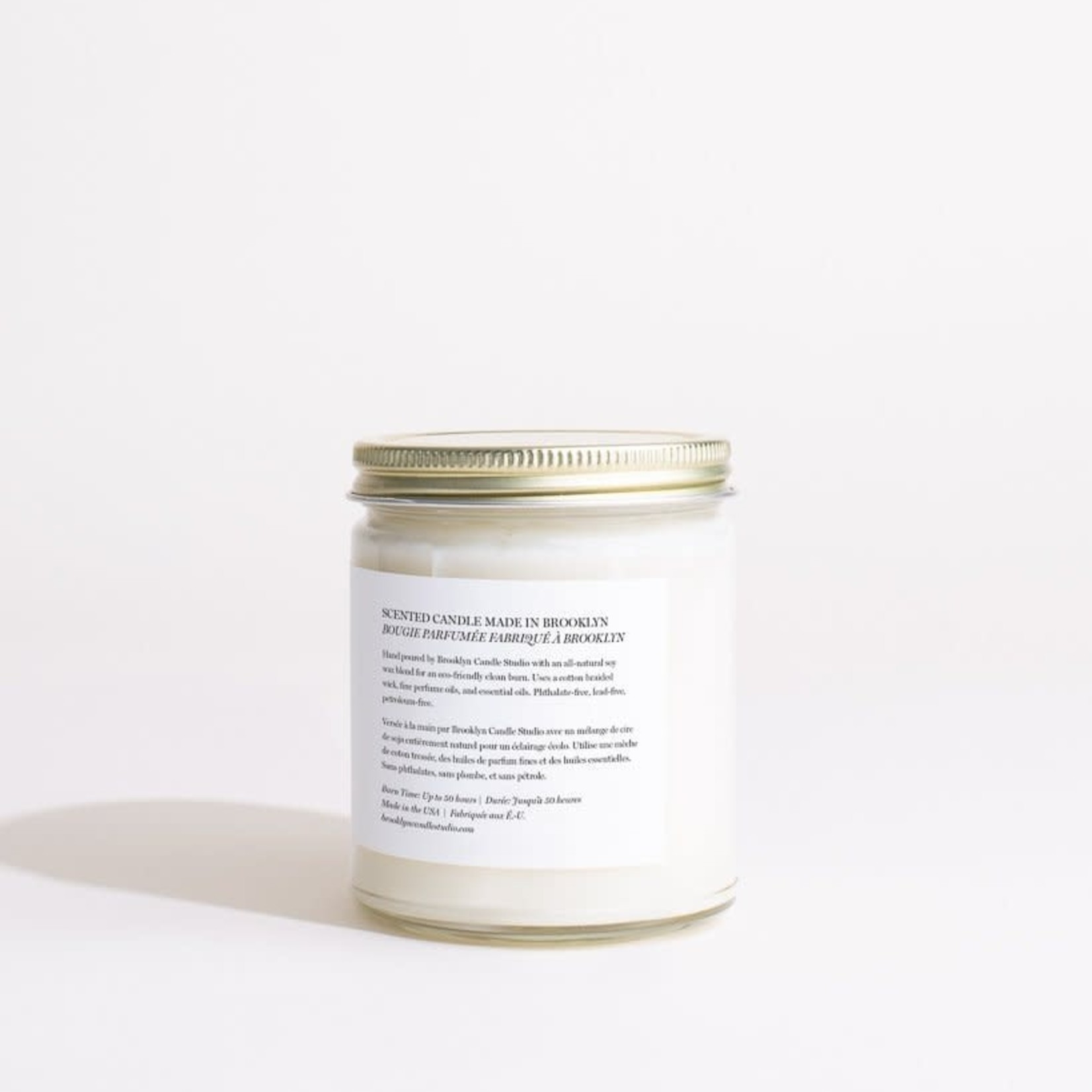 Brooklyn Candle Studio Brooklyn Candle Studio SUNDAY MORNING Minimalist Jar Candle