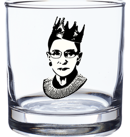 Woods Grove Woods Grove Rocks Glass RBG - Ruth Bader Ginsburg