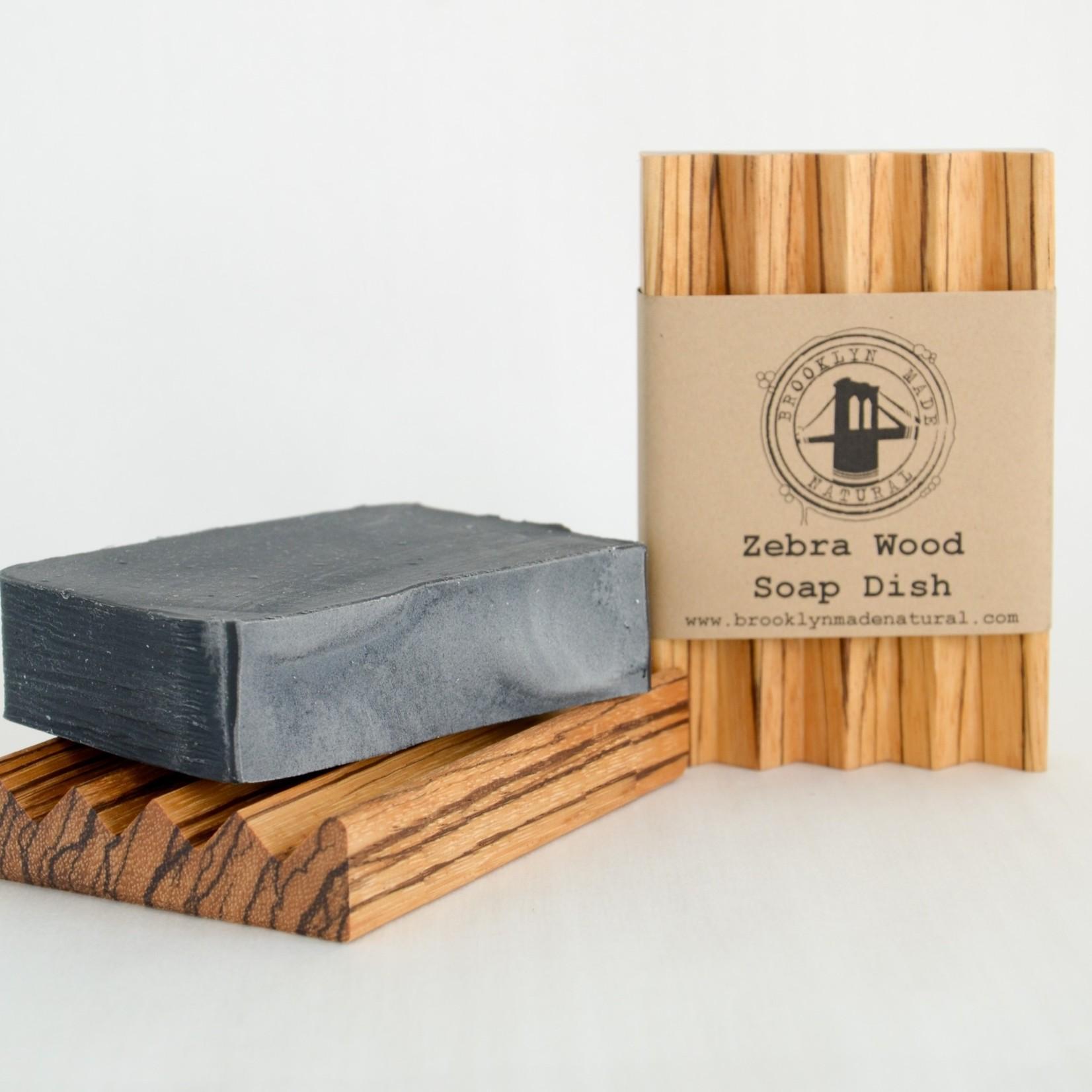 Brooklyn Made Natural Brooklyn Made Natural Zebrawood Soap Dish
