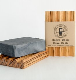 Brooklyn Made Natural Brooklyn Made Natural Zebrawood Soap Dish