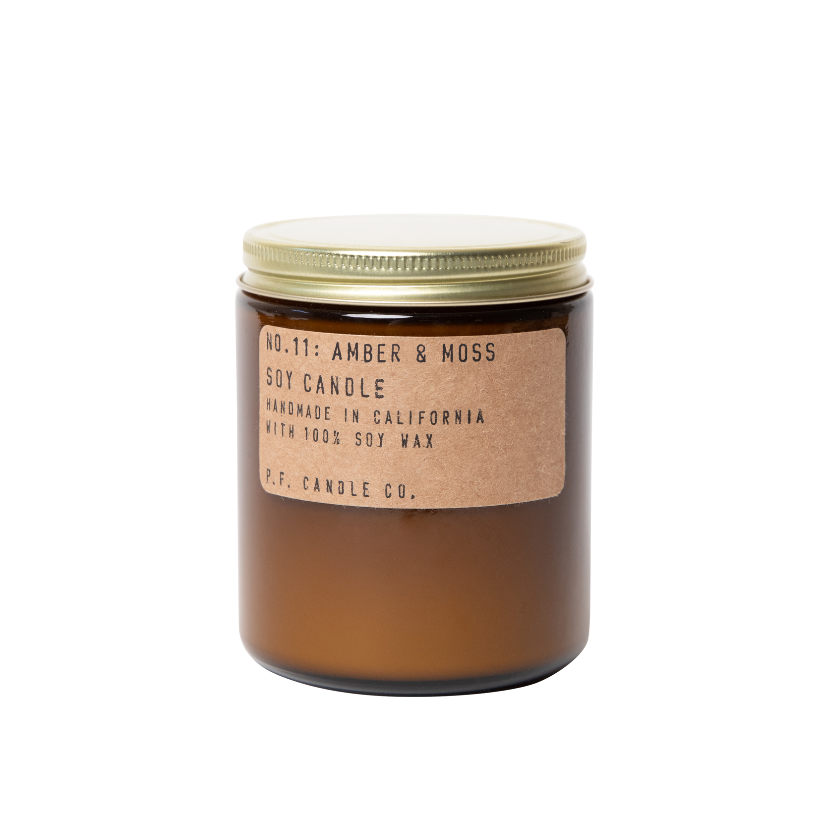 P.F. Candle Co. P.F. Soy Candle 7.2oz Amber & Moss