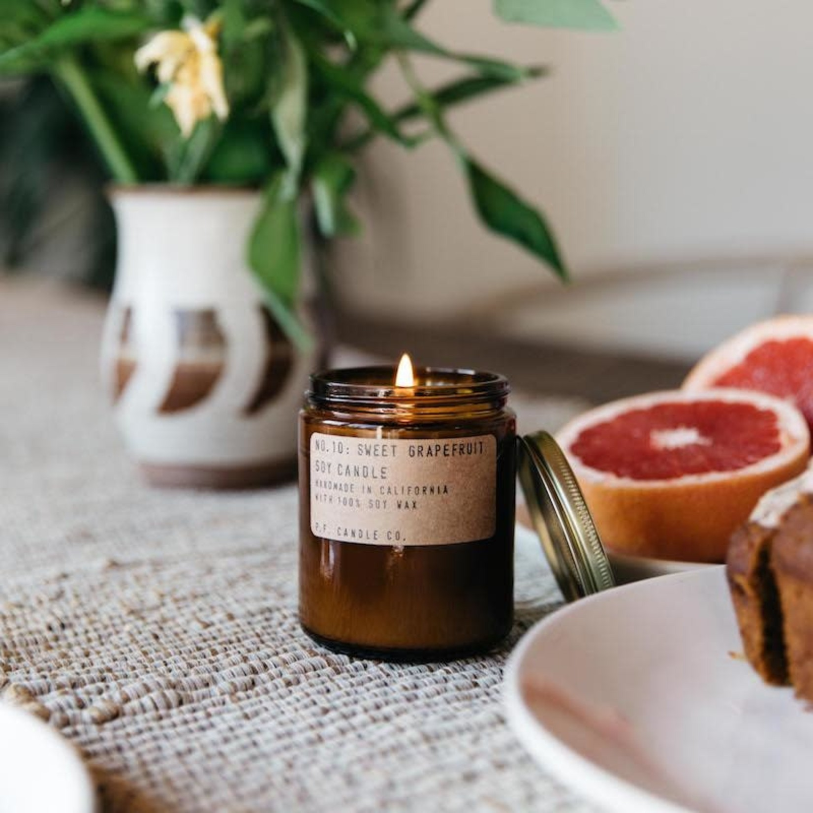 P.F. Candle Co. P.F. Soy Candle 7.2oz Sweet Grapefruit